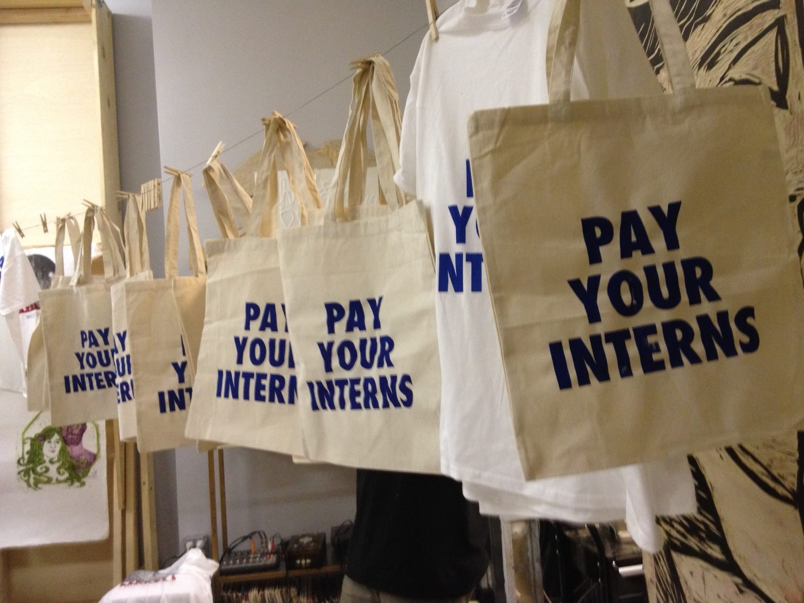 home intern labor rights p s we made a new batch of pay your interns totes and t shirts get yours here living in ny and want to save on shipping